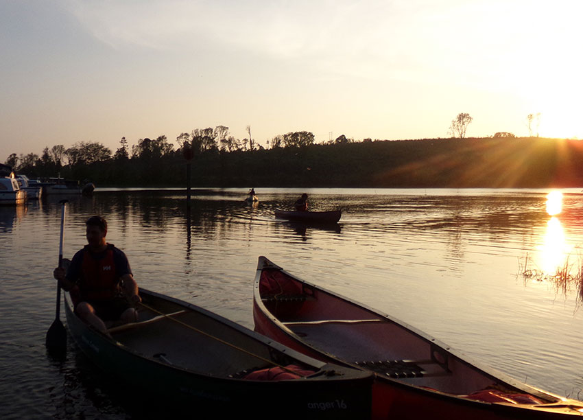 Canoe Skills Classes with Adventure Gently
